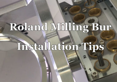 Roland Milling Bur Installation Tips Cover