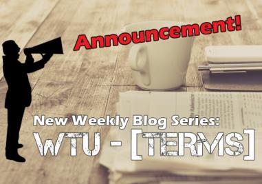 WTU-Terms Intro
