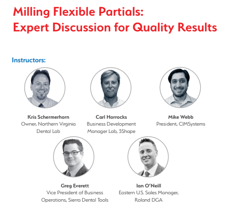 Milling Flexible Partials – Expert Discussion for Quality Results